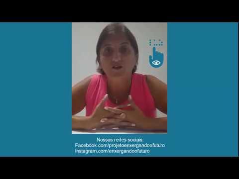 Projeto enxergando o futuro Depoimento Aluna Lídia Lopes